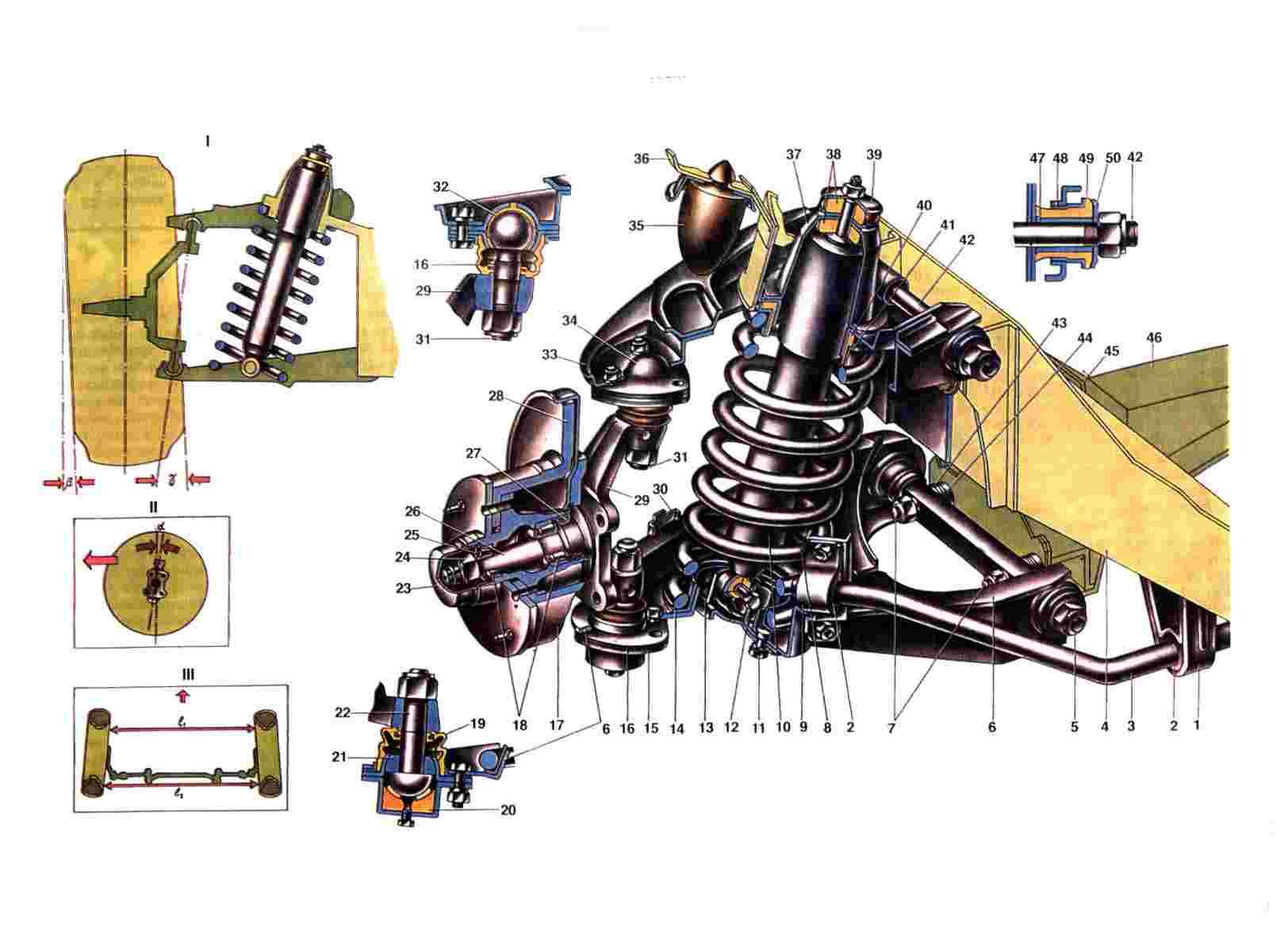 Схема проводов на контактную группу зажигания ваз2107